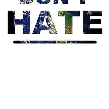 Don't Hate t-shirt by Diversite