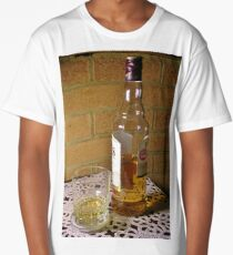 A Wee Dram  (Bottle of Whiskey) Long T-Shirt