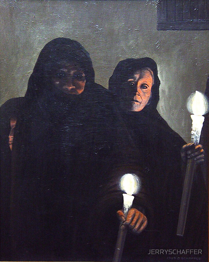 CANDLELIGHT VIGIL by JERRYSCHAFFER