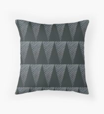 Timargyle pattern- a Herbertian triangle Throw Pillow