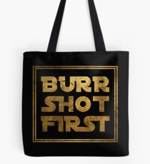 Bolsa de tela Burr Shot First - Oro