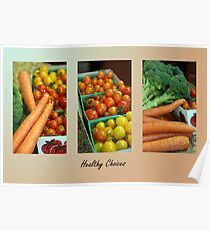 Healthy Choices Poster