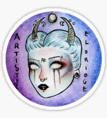 Artistic Eldridge Logo Sticker