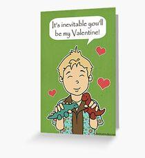 Firefly Wash Valentine Greeting Card