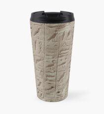 hieroglyphs Travel Mug