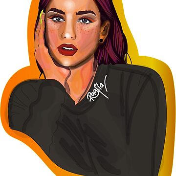 Dua Lipa by httpartless