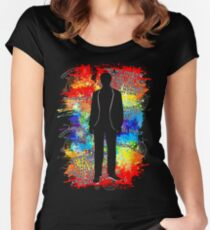 The Prisoner Psychedelic Sixties Quotes Women's Fitted Scoop T-Shirt