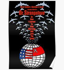 Kubrick Dr. Strangelove Logo Poster