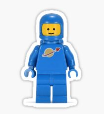 Lego Guy Space Suit Minifigure Sticker