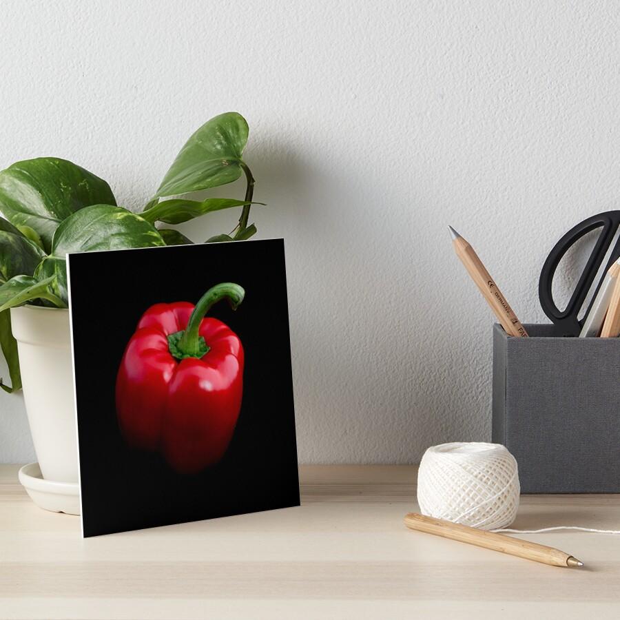 Roter Pfeffer Galeriedruck