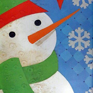 Snowman Face by FrankieCat