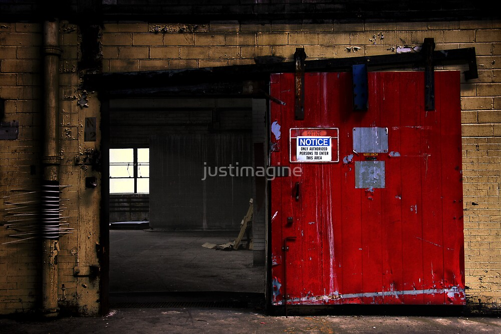 Authorized persons only  by justimagine
