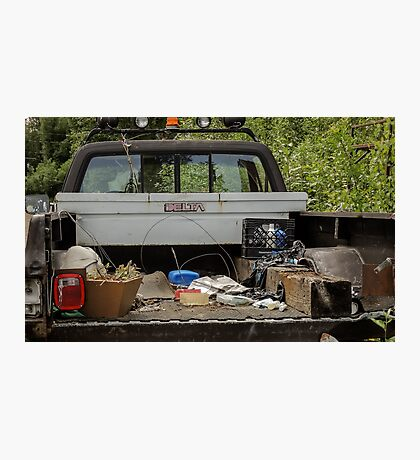 Stuff on A Truck  Photographic Print