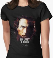 I`m Just A Cook - Casey Ryback [UNDER SIEGE] Women's Fitted T-Shirt
