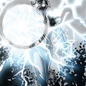 The New God of Lightning by Boneitis