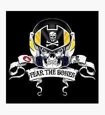 Fear the Bones Photographic Print