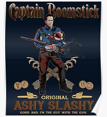Captain Boomstick (Puppet Version) Poster
