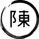 Calen Chan Logo Shirt (black logo) by YGTFreerunning