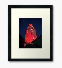 University of Texas Tower Framed Print