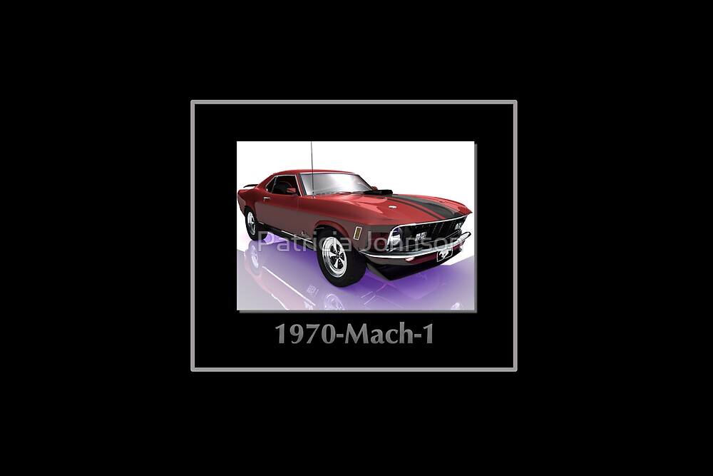 Muscle Car by Patricia Johnson