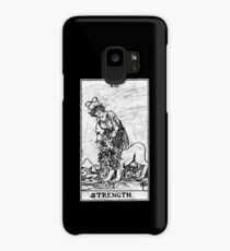 Strength Tarot Card - Major Arcana - fortune telling - occult Case/Skin for Samsung Galaxy