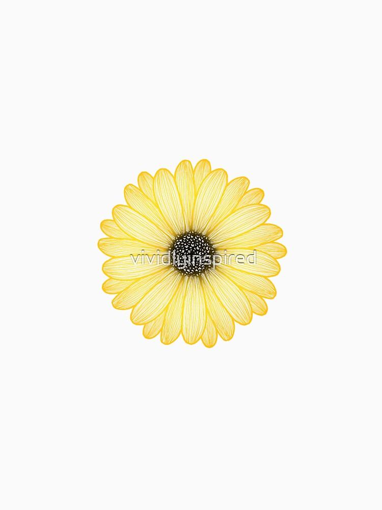 Gelbes Gänseblümchen von vividlyinspired
