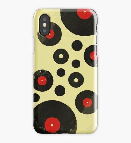 Vintage Vinyl Records Music DJ inspired design iPhone Case/Skin