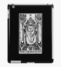The Hierophant Tarot Card - Major Arcana - fortune telling - occult iPad Case/Skin