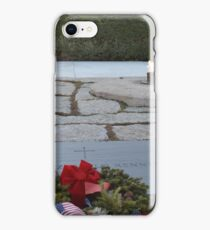 Kennedy Grave site iPhone Case/Skin