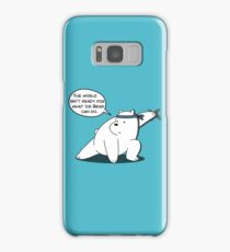 Ice Bear - The world isn't ready for what Ice Bear can do - We Bare Bears Cartoon Samsung Galaxy Case/Skin