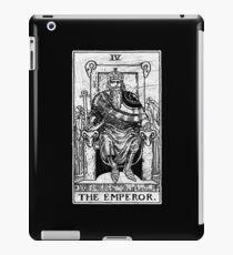 The Emperor Tarot Card - Major Arcana - fortune telling - occult iPad Case/Skin