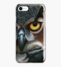 Animalia: Virginianus (Great Horned Owl) iPhone Case/Skin