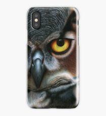 Animalia: Great Horned Owl iPhone Case/Skin