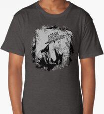Cowboy Smoking Hat - Cool Grunge Vintage Long T-Shirt