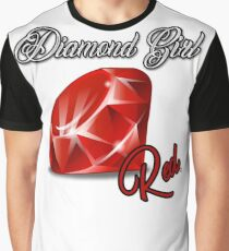 Diamond Girl Graphic T-Shirt