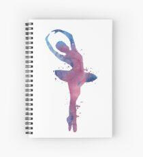 Ballet dancer Spiral Notebook