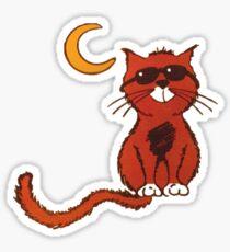 Catman Cafe Sticker