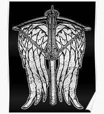 Angel Wings and Crossbow (Dirty) Poster