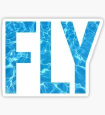Schwimmfliege Sticker