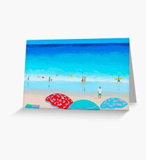 A blue, blue day Greeting Card
