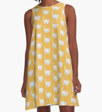 Fat Cat Charles A-Line Dress