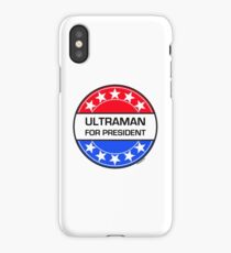 ULTRAMAN FOR PRESIDENT iPhone Case/Skin