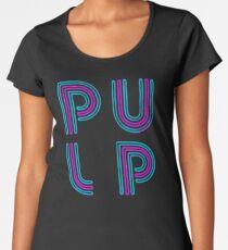 Pulp - Neon Logo Women's Premium T-Shirt
