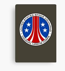 United States Colonial Marine Corps Insignia - Aliens Canvas Print