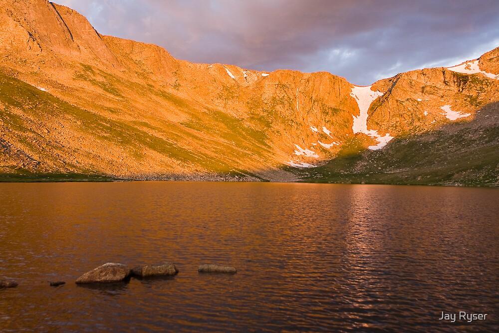 STOCK-Summit Lake at Sunrise by Jay Ryser