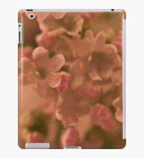 Valarian Blossoms Macro - Digital Oil Painting iPad Case/Skin