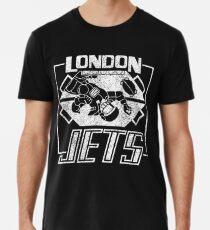Camiseta premium para hombre London Jets apenado logotipo