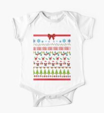 Ugly Christmas Design One Piece - Short Sleeve