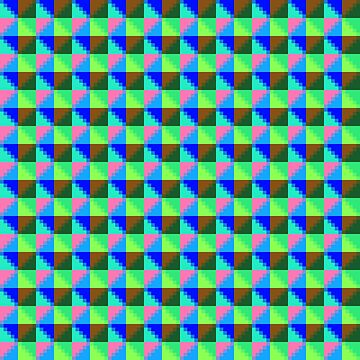Eight Triangles Invert Pixel by onejyoo