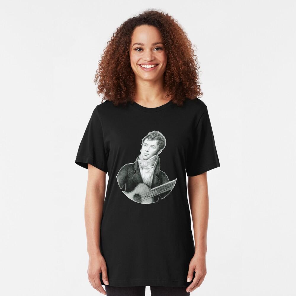 Fernando Sor - Spanish classical guitarist and composer Slim Fit T-Shirt
